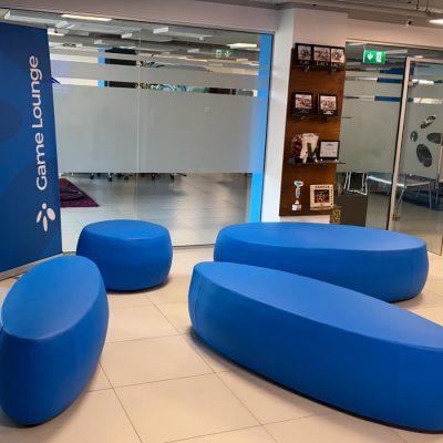 Game Lounge Logo Sofa