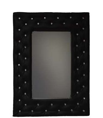 Upholstered mirror