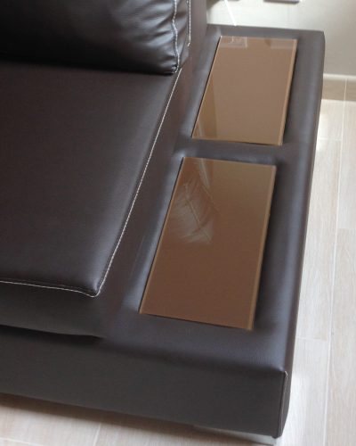 Integrated Sofa Table